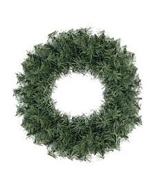 "18"" Canadian Pine Artificial Christmas Wreath - Unlit"