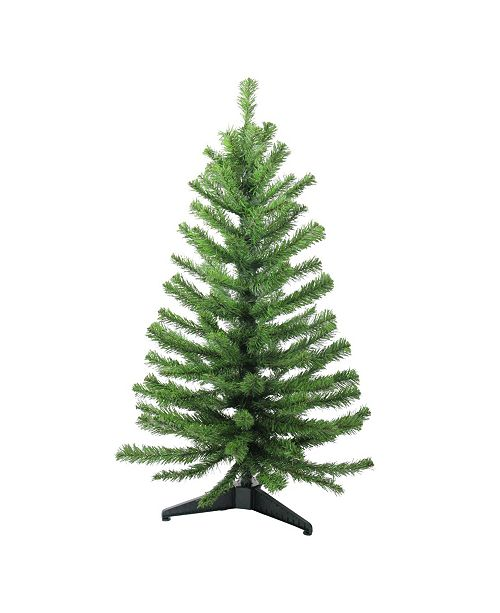 Northlight 3' Two-Tone Balsam Fir Artificial Christmas Tree - Unlit