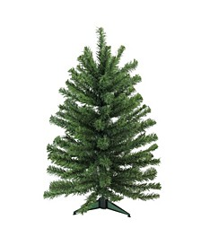 "24"" Traditional Mini Pine Artificial Christmas Tree - Unlit"