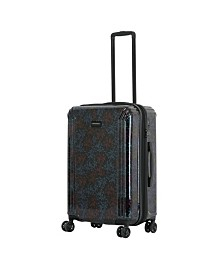 """Triforce Lumina 26"""" Spinner Iridescent Floral Print Luggage"""