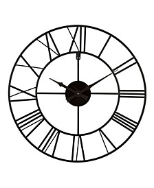 "La Crosse Clock 404-3451 20"" Metal Tower Wall Clock"