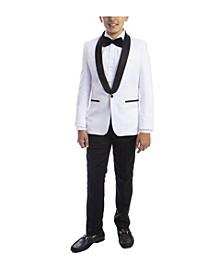 Little Boy's 5-Piece Slim Fit Shawl Tuxedo Set