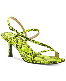 INC Women's Loreline Strappy Dress Sandals, Created for Macy's