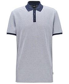 BOSS Men's Parlay 57 Two-Tone Polo Shirt