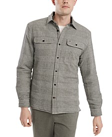 Men's Tate Regular-Fit Plaid Shirt Jacket
