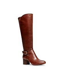 Honesty Wide Calf Buckle Boots