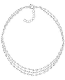 Three-Row Mirror Chain Anklet