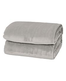 Elle Decor Silky Soft Thick Plush Blanket - Twin