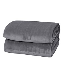 Silky Soft Thick Plush Blanket - Twin
