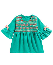 First Impressions Baby Girls Smocked Top, Created For Macy's