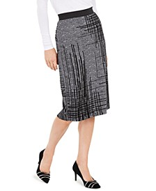 Flocked Pencil Skirt, Created For Macy's
