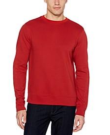 Men's Ottoman Rib Knit Long Sleeve Shirt
