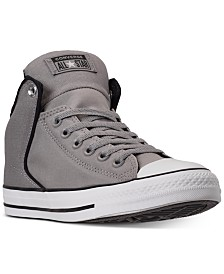 Converse Men's Chuck Taylor Street High Top Casual Sneakers from Finish Line