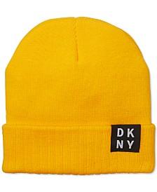 DKNY Men's Logo Beanie