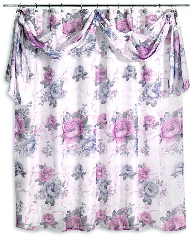 Popular Bath Michelle Shower Curtain