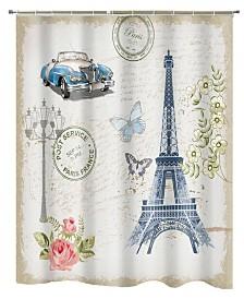 Popular Bath Paris Shower Curtain