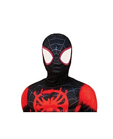 Spider-Man, Into the Spider-Verse Miles Morales Spider Man Fabric Mask Child