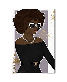 Poised Lovely Woman Canvas Art Collection
