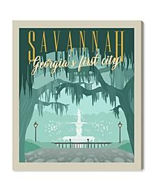 """Savannah Postcard Canvas Art - 45"""" x 36"""" x 1.5"""""""