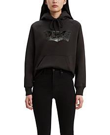 Women's Sequin-Graphic Sport Hoodie
