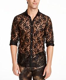 INC Men's Ricardo Lace Shirt, Created For Macy's