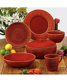Aztec Rust Dinnerware Collection