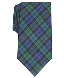 Men's Black Watch Tie, Created For Macy's
