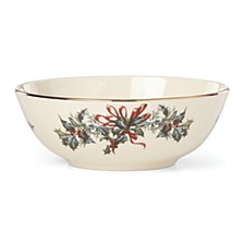 Winter Greetings Place Setting Bowl