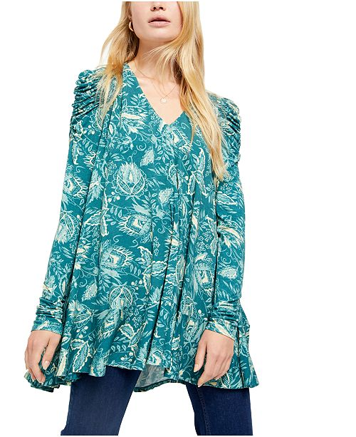 Free People Hello Lover Tunic Top