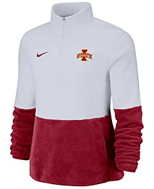 Women's Iowa State Cyclones Therma Long Sleeve Quarter-Zip Pullover