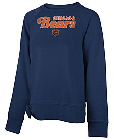 Big Girls Chicago Bears Tie Fleece Pullover