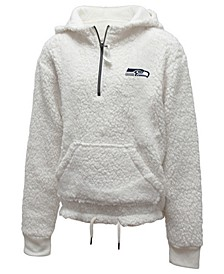 Big Girls Seattle Seahawks Sherpa Pullover