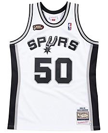 Men's David Robinson San Antonio Spurs Authentic Jersey