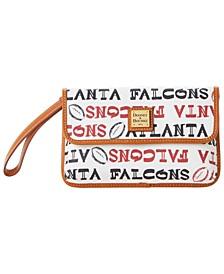 Atlanta Falcons Doodle Milly Wristlet