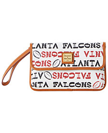 Dooney & Bourke Atlanta Falcons Doodle Milly Wristlet