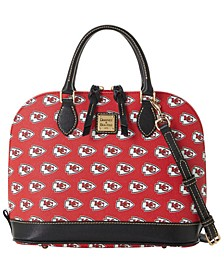 Kansas City Chiefs Saffiano Zip Satchel