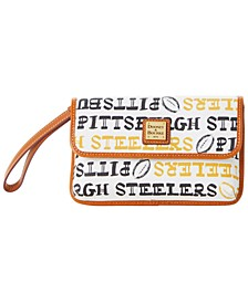 Pittsburgh Steelers Doodle Milly Wristlet