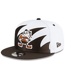 New Era Cleveland Browns Vintage Sharktooth 9FIFTY Cap
