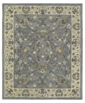 Brooklyn Keaton-05 Pewter 8' x 11' Area Rug