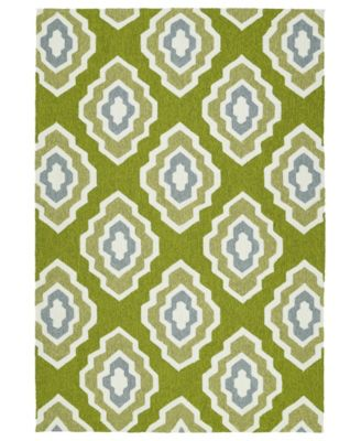 Escape ESC02-50 Green 9' x 12' Area Rug