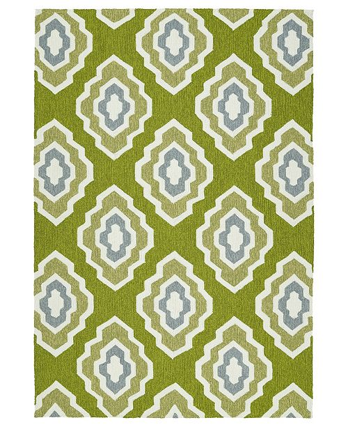 Kaleen Escape ESC02-50 Green Area Rug Collection