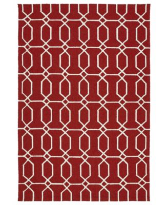 Escape ESC10-25 Red 9' x 12' Area Rug