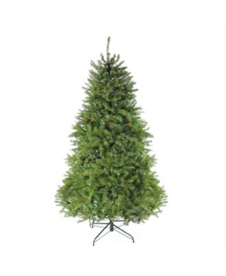 Northlight 7.5' Pre-Lit Northern Pine Full Artificial Christmas Tree - Multi-Color Lights