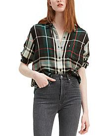 Levi's® Women's Ultimate Boyfriend Plaid Shirt