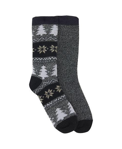 Brookstone Cabin Cozy Sock, 2 Pack