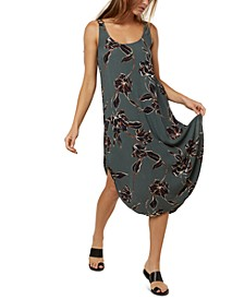 Juniors' Nikko Floral-Print Tank Dress