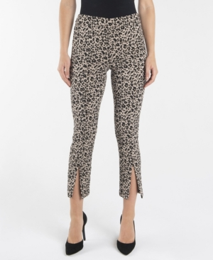 Nanette Lepore Pants NANETTE LEPORE PULL ON SLIM ANKLE PANTS WITH FRONT ANKLE SLITS