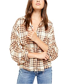 Pacific Dawn Plaid Shirt