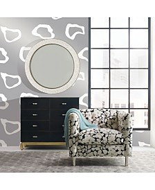 Cynthia Rowley for Tempaper Pool House Silver Self-Adhesive Wallpaper