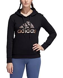 Women's Metallic Logo Hoodie